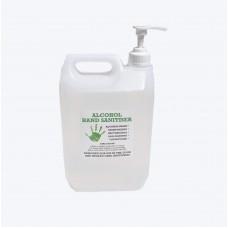 Hand Sanitiser Gel Alcohol 75%  5 Litre size Lemon Grass & Tea Tree
