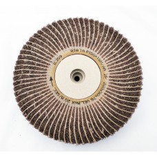 "Satin Abrasive Combi  Wheel 150 Grit/Fine A  8""x2"" Taper bore (200mm x 50mm)"