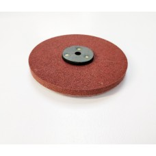 Deburring Wheel 150mm x 12mm 14P Hard with leather washer