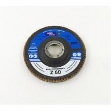Inter Grind 115mm x 22mm Flap Disc Zirconia Blue 60 Grit