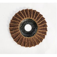 "SMT 800 Satin Flap Disc Coarse Brown 115mm x 22,23mm (4 1/2"")"