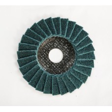 "SMT 800 Satin Flap Disc Very Fine Green 115mm x 22,23mm (4 1/2"")"