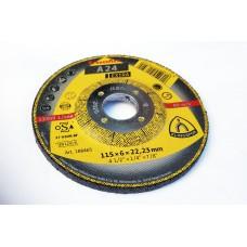 A24 Extra 115x6x22.2mm Grinding Disc Klingspor