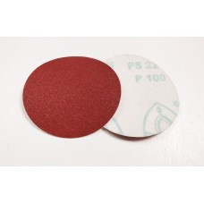 "PS22K 4 1/2"" (115mm) 60 Grit Brown Self Fastening Disc Klingspor"