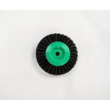 Lathe Brush 65mm Green Centre BR20/63