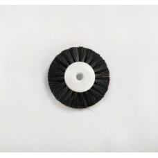 Lathe Brush White Plastic Centre