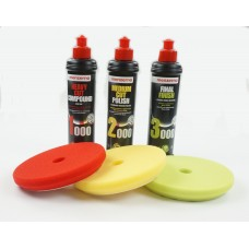 Three Stage Classic Menzerna Polishing Kit