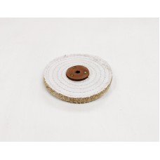 "Sisal Mop 6""x1 section (1/2"") (150mmx13mm) Open Stitch"