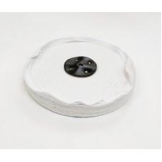 "White Close Stitch Mop 10""x2 section (1"") (250mmx25mm)"