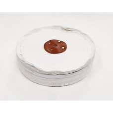 "White Close Stitch Mop 10""x5 section (2"") (250mmx63mm)"