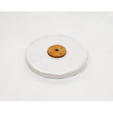 "White Close Stitch Mop 8""x1 section (1/2"") (200mmx13mm)"