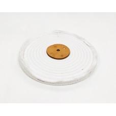 "White Open Stitch Mop 10""x1section (1/2"") (250mmx13mm)"