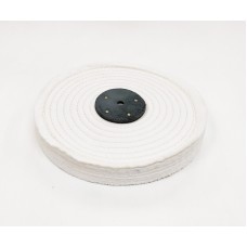 "White Open Stitch Mop 10""x2 section (1"") (250mmx25mm)"