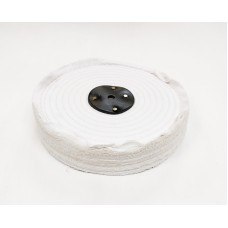 "White Open Stitch Mop 10""x3 section (1 1/2"") (250mmx38mm)"