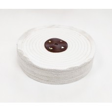 "White Open Stitch Mop 10""x4 section (2"") (250mmx50mm)"