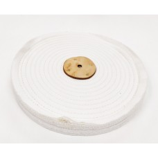 "White Open Stitch Mop 12""x2 section (1"") (300mmx25mm)"