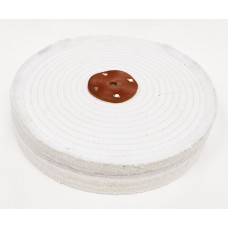 "White Open Stitch Mop 12""x4 section (2"")  (300mmx50mm)"