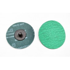 Roloc Disc 75mm Green Zirconia 80-Grit