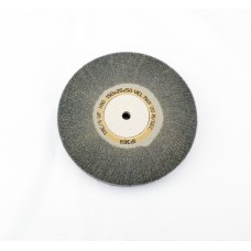 "Satin Wheel Grey Silicone Super Fine Grade 6""x1""  (150mm x 25mm)"