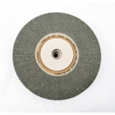 "Satin Wheel Grey Silicone Super Fine  Grade 8""x2"" (200mm x 50mm)"
