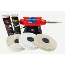 "Sealey Aluminium Polishing Kit 8"""