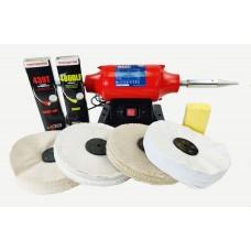 """Sealey Aluminium Polishing kit 8"""" with Super Finish"""