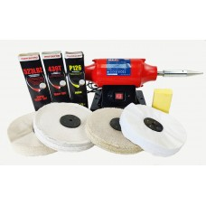 """Sealey Steel & Stainless Steel kit 8"""" with Super Finish"""