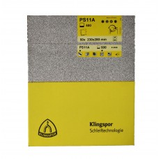 PS11 Klingspor Wet n Dry Paper   230mm x 280mm 50 Sheet Box