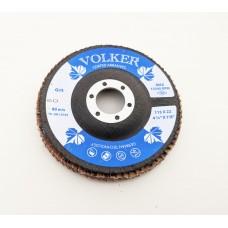 Volker Flap Disc 115mm x 22mm BORA-7 Ceramic