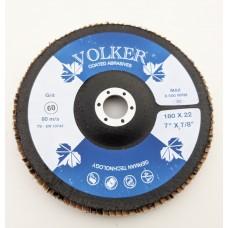 Volker Flap Disc 180mm x 22mm BORA-7 Ceramic