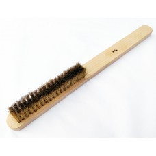 Hand Brush 79H Brass 0.12mm Crimped Wire