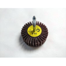 KM613 Flap Wheel 60mm x 20mm x 6mm Shank 40 Grit