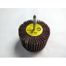 KM613 Flap Wheel 80mm x 50mm x 6mm Shank 80 Grit