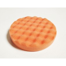 Foam Pad Orange WAFFLE 150mm x 25mm Velcro Compounding Pad 44580