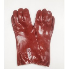 Red PVC Gauntlet R235 14""